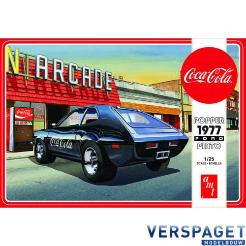 1977 Ford Pinto Popper w/COCA COLA MACHINE -1166
