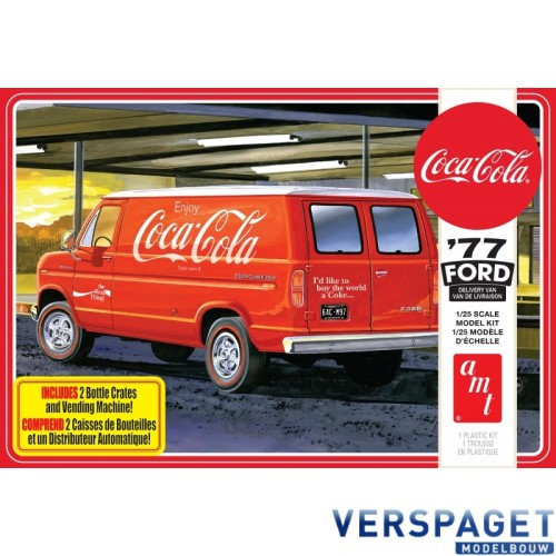 1977 Ford Van with Coca Cola Vending Machine  -1173