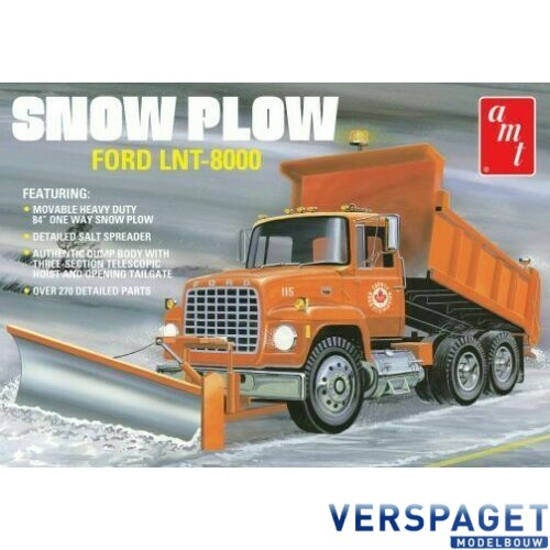 Ford LNT 8000 Dump Truck With Snow Plow -1178