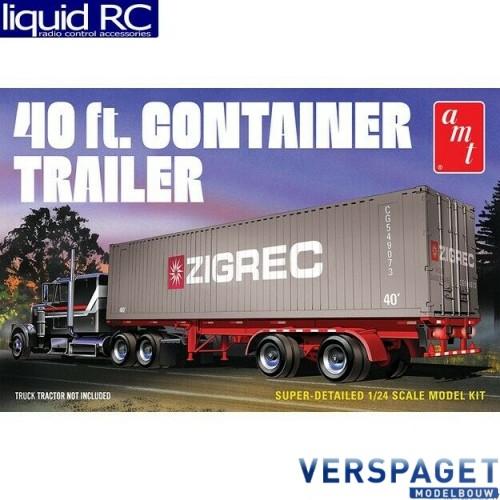 40 Foot Semi Container Trailer-1196