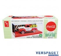 Display Show Case with Red Display Base and 4 Coca-Cola  -1199