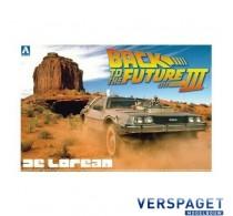 Back to the Future DeLorean from PART III & Railroad -AO1187