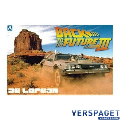 Back to the Future DeLorean from PART III & Railroad -AO1187