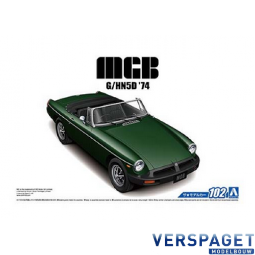 MGB Roadster 1974 -AO5686