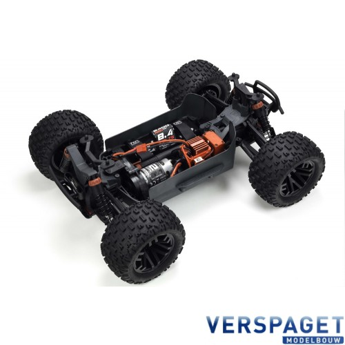 Granite 4x4 RTR Model 2018 & Accupack & Lader Rood/Zwart -AR-102681