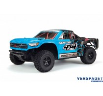 Senton 4x4 Short Course RTR Model 2018 & Accupack & Lader Blauw/Zwart -AR-102683