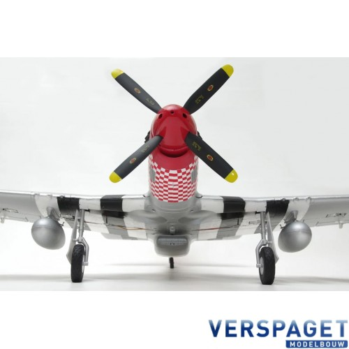 P-51 MUSTANG - 1100MM - PNP - W/ ELECTRIC RETRACTS -AS-AH004P