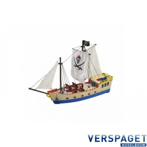 PiratenSchip & Verf & Penseeltje -30509