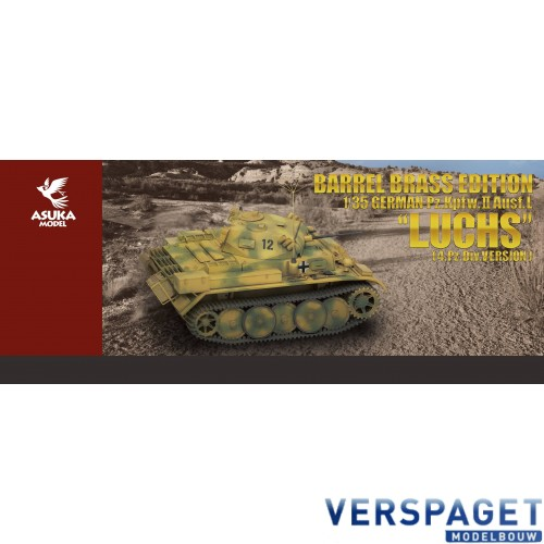 Barrel Brass Edition German Pz.Kpfw.II Ausf.L `Luchs`  4.Pz.Div.Version -35-039