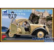 Italian Light Civilian car with Lady and Dog -CB35165