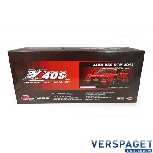 M40S AUDI RS5 DTM RED 1/10 KIT -CA76368