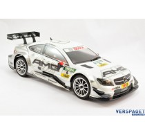M40S MERCEDES AMG DTM WHITE1/10TH KIT -CA76668