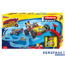 First Racebaan  Mickey & Roadster Racers -63013