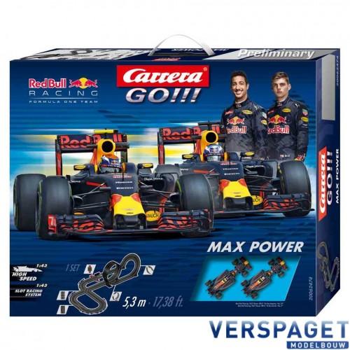 Go Max Power Racebaan -62474