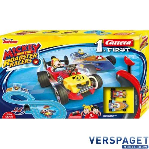 First Racebaan  Mickey & Roadster Racers -63012