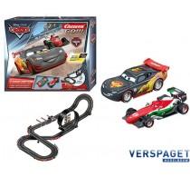 Racebaan GO! Disney Cars Carbon Drifters -62385