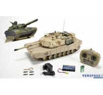 M1A1 Abrams Sand Color Bullet Shooting Functie -907188