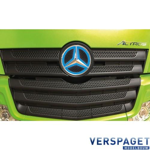 Mercedes Logo Blauw Verlicht -907585