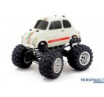 Q-SERIES |  FIAT ABARTH 595 |  1/12 Schaal | SOLID AXLE RTR Wheelie TRUCK -8912