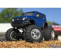 Q-SERIES | SUZUKI Jimny Blue |  1/12 Schaal | SOLID AXLE RTR Wheelie TRUCK -8937