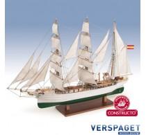 Galatea / Glenlee houten scheepsmodel 1:140 -80842