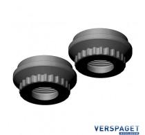 Shock Cap Lower Aluminum 2 Pcs -C-00180-316