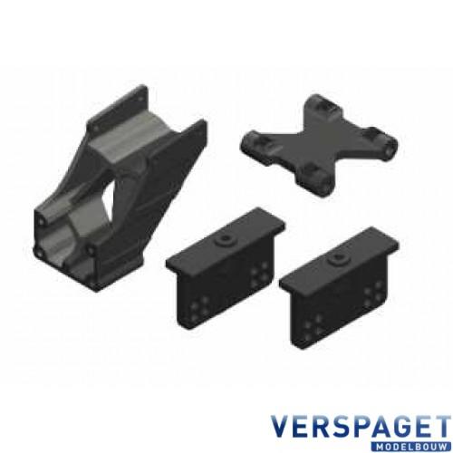 Wing Mount - Adjustable - Composite - 1 Set - C-00180-005-2