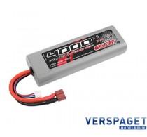 Lipo accu 7.4 Volt 4000 Mah T Stekker -C48230