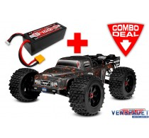 DEMENTOR XP 4S Combo - w/ LiPo Battery TC Power Racing 50C 4S 5400mAh