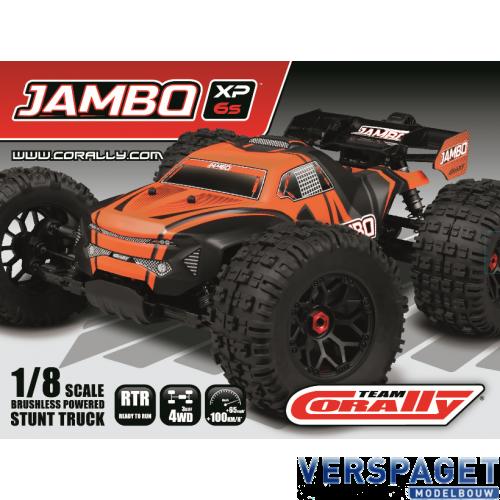 Jambo XP 6S RTR 1/8 Brushless Stunt Truck 4WD RTR Model 2021 -C00166