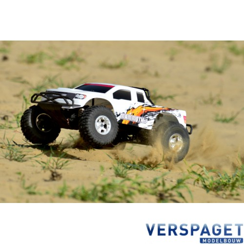 Mammoth SP Sport Power 1/10 Monster Truck C00254 & PulseTec mega 50 Snellader & Gens Ace Lipo Accu