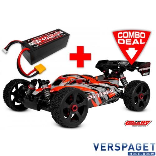 Python XP 4 S Combo - w/ LiPo Battery TC Power Racing 50C 4S 5400mAh