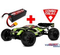 Shogun XP 4S Combo - w/ LiPo Battery TC Power Racing 50C 4S 5400mAh
