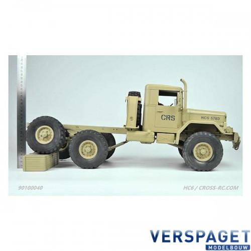 HC6 1/12 6x6 Crawling/Truck Kit -CRO90100040