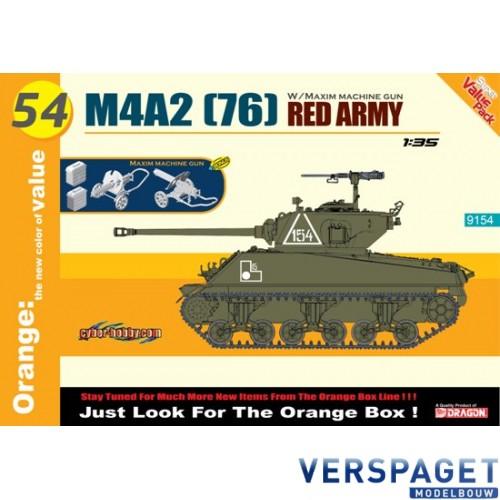 M4A2 (76) Red Army  w/Maxim Machine Gun -9154