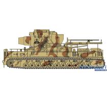 "Preorder German Super-Heavy-Self-Propelled Mortar 60cm Mörser ""Karl"" Gerät 040 with Gun Crew -9157"