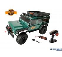 DF-4J |  Crawler | Limited Edition | Lier | 2 versnellingen |5CH Zenderset |  Groen | Nimh Accupack | Lader | -3100
