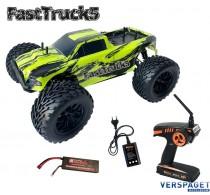 Fast Truck 5  |  Bigwheel  | Monster Truck | Brushless -3167