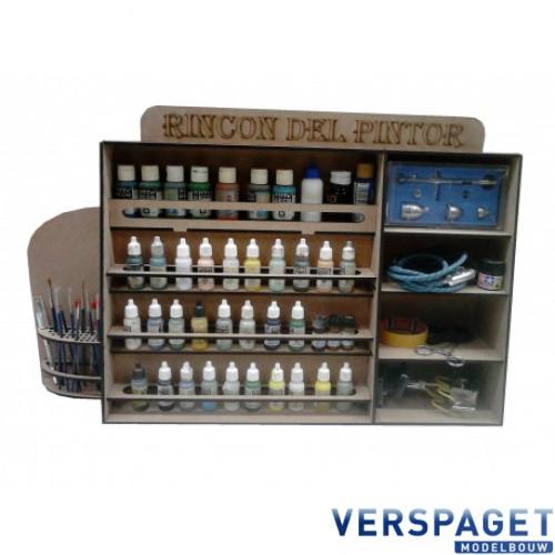 Verf / Gereedschap / Modelbouw Opberg Systeem -44017