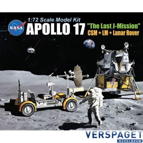 Apollo 17 the Last J-Mission CSM + LM + Lunar Rover -11015