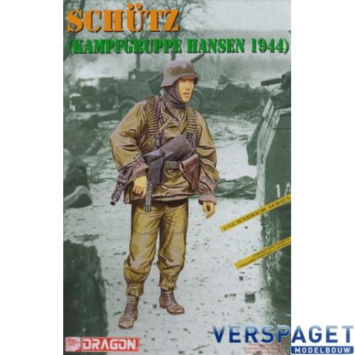 SS-SCHÜTZ (KAMPFGRUPPE HANSEN 1944) -1623