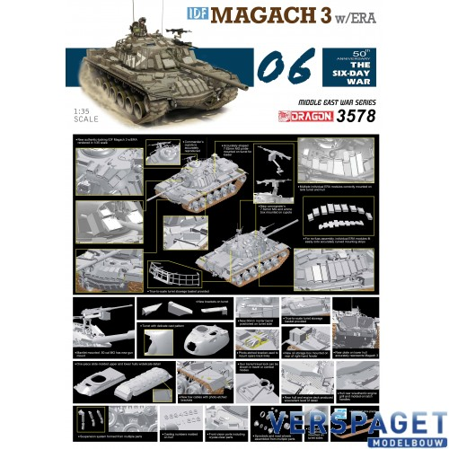 IDF Magach 3 w/ERA -3578