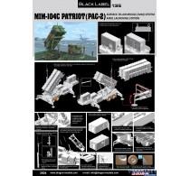"MIM-104C Patriot Surface-to-Air Missile (SAM) System (PAC-2) - ""Black Label Series"" -3604"