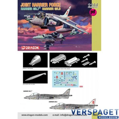 Joint Harrier Force Harrier GR.7 + Harrier GR.9 Twin Pack-4603