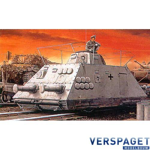 Schienen Panzerspahwagen Kommandwagen, antenna etc -6071