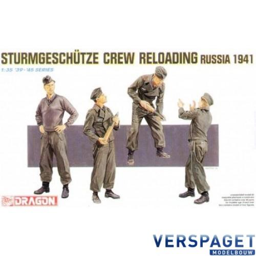 Sturmgeschütze Crew Reloading -6192