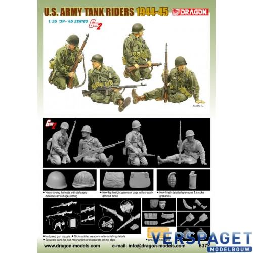 U.S. Army Tank Riders 1944-45 -6378