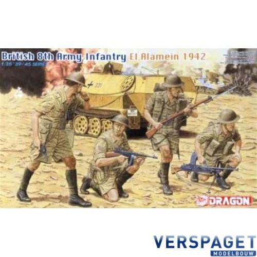 British 8th Army Infantry  El Alamein 1942 -6390