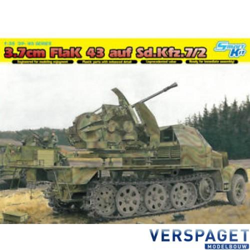 3.7cm FlaK 43 auf Sd.Kfz.7/2-6553