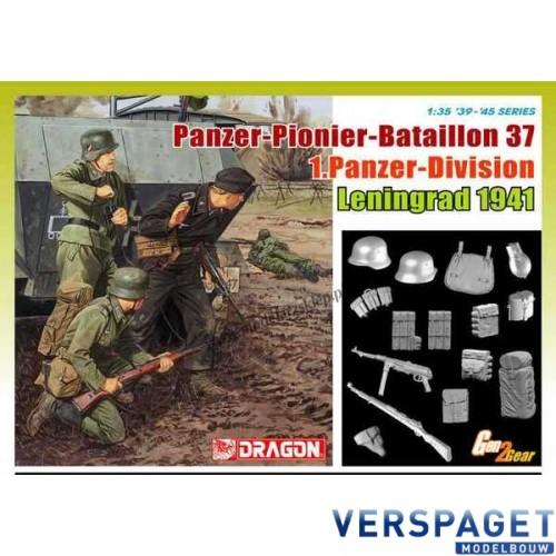 Panzer-Pionier-Bataillon 37, 1.Panzer-Division, Leningrad 1941 -6651